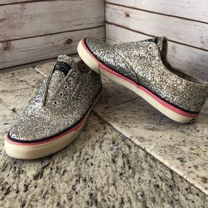 Glitter Sperry top sides